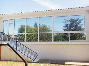teinte des vitres