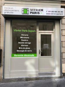 Vitrerie Paris 18